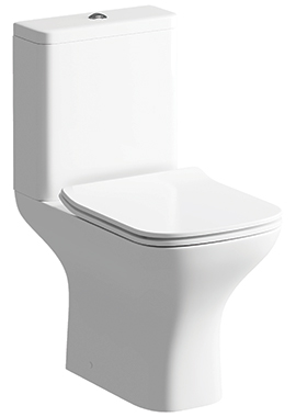 Related Evo Close Coupled WC Pan With Cistern And Soft Close Seat