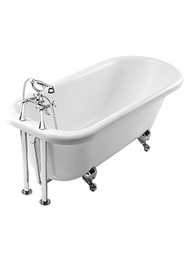Related Summit 1695 x 760mm Single Ended Freestanding Bath With Feet