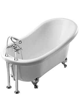 Related Summit 1560 x 740mm Freestanding Slipper Bath With Feet
