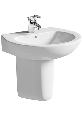 Related Ideal 550mm Basin With Semi Pedestal