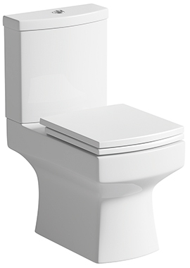 Related Kane Close Coupled WC Pan With Cistern And Soft Close Seat