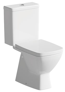Related Vanilla Close Coupled WC Pan And Cistern With Soft Close Seat