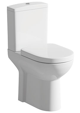 Related Smart Comfort Height Close Coupled WC With Soft Close Seat