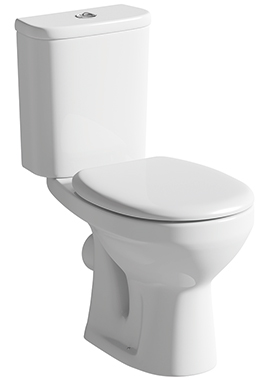 Related Ideal Close Coupled WC Pan And Cistern With Seat