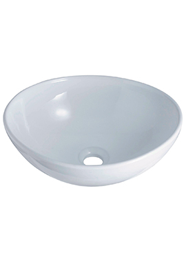 Related Intenso 410 x 330mm Oval Ceramic Washbowl