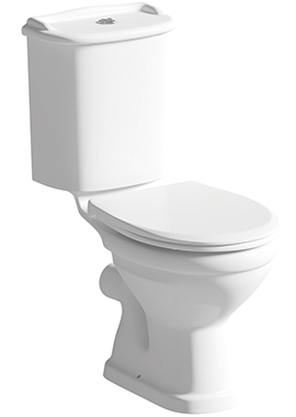 Related Celsius Close Coupled WC Pan And Cistern With Seat