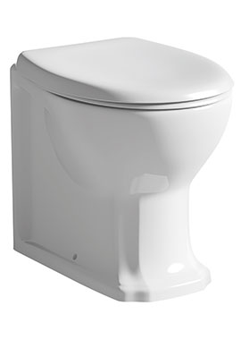 Related Vero Back To Wall WC Pan With Seat