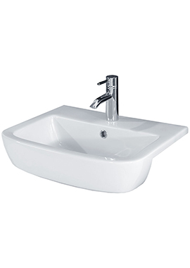 Related Bloom 520mm 1 Tap Hole Semi-Recessed Basin