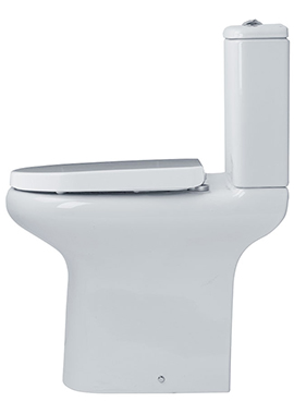 Related Tulip Close Coupled Comfort Height Open Back WC Pack 625mm