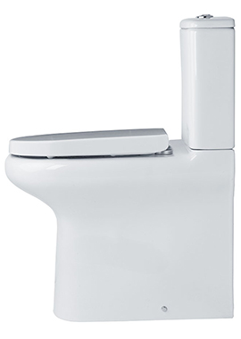 Related Tulip Close Coupled Comfort Height Fully Back-To-Wall WC Pack 625mm