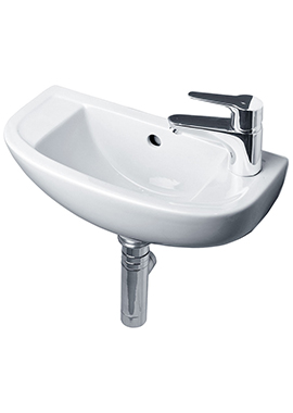 Related Tulip 450mm 1 Right Hand Tap Hole Slimline Basin