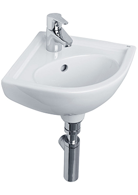 Related Tulip 440mm 1 Tap Hole Corner Basin