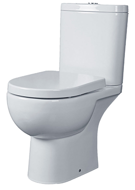 Related Tulip Close Coupled Open Back WC Pack 625mm