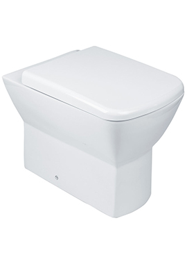 Related Rose Back-To-Wall WC Pan 540mm With Seat And Cover