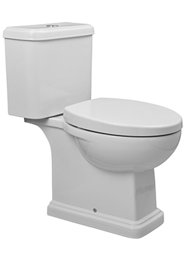 Related Coronation Close Coupled WC Pan And Cistern 660mm
