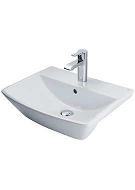 Related Rose 500mm 1 Tap Hole Semi-Recessed Basin