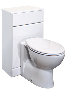 Related Chill 500mm Back-To-Wall WC White Furniture Unit