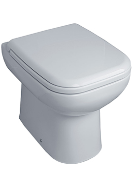 Related Glaze Back-To-Wall WC Pan 490mm With Seat And Cover