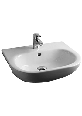 Related Tulip 520mm 1 Tap Hole Semi Recessed Basin