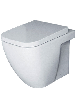Related Adore Back-To-Wall WC Pan 550mm With Seat And Cover