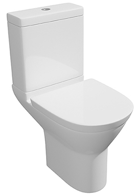 Related Wove Arc Close Coupled WC Pan With Cistern And Soft Close Seat