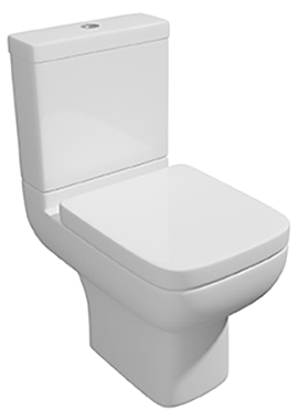 Related Status II Closed Coupled WC Pan With Cistern And Soft Close Seat 600mm