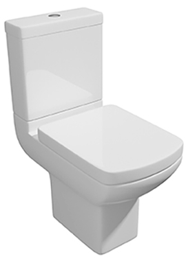Related Signature Close Coupled WC Pan With Cistern And Soft Close Seat 600mm