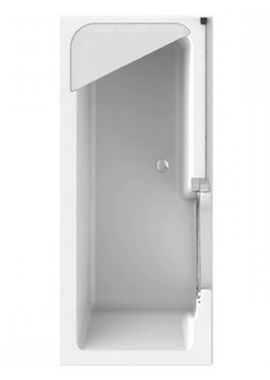 Related Style Walk-in Bath Including Screen 1800 x 800mm