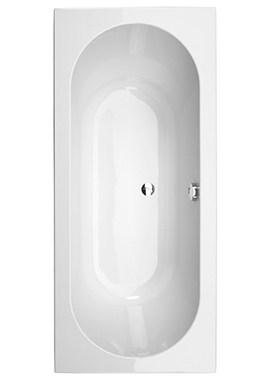 Related Elements 1800 x 800mm Double Ended Bath