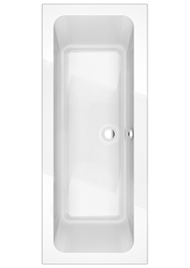 Related Sense 1800 x 800mm Double Ended Bath