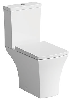 Related Cloe Close Coupled Pan And Cistern With Soft Close Seat