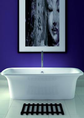 Related Instinct 1800 x 800mm Double Ended Freestanding Self-Paint Bath