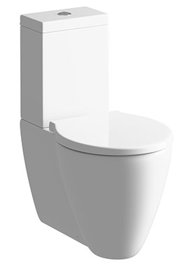 Related Cream Close Coupled Pan And Cistern With Soft Close Seat