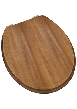 Related Prime Walnut Wood Effect Toilet Seat