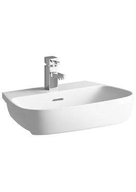 Related Balli 605mm 1 Tap Hole Semi Recessed Basin