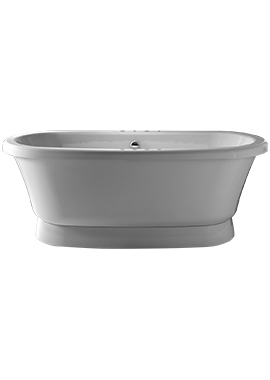 Related Soho 1700 x 750mm Double Ended Plinth-To-Floor Freestanding Bath