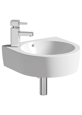 Related Lux Realty 400mm 1 Tap Hole Cloakroom Basin With Bottle Trap