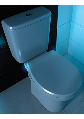 Related Luxor Universal Thermoset Soft Close Toilet Seat With LED Light