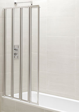 Related Champlain 4 Fold Bath Screen 1400mm