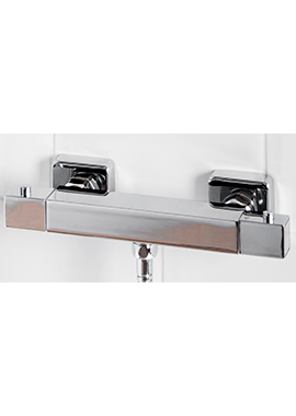 Related Solaris Square Thermostatic Bar Shower Valve