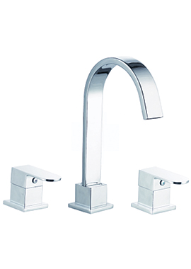 Related Everest 3 Tap Hole Bath Filler Tap