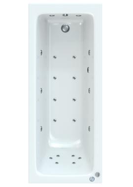 Related Savoy 1600 x 700mm Bath With Wellness Chromatherapy Whirlpool System