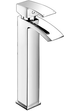 Related Accent Tall Mono Basin Mixer Tap With Click Waste