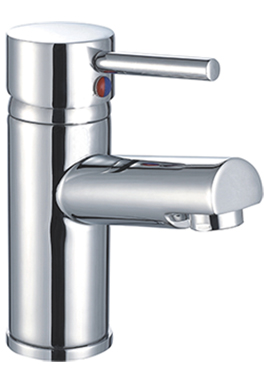 Related Shine Mono Basin Mixer Tap With Click Waste