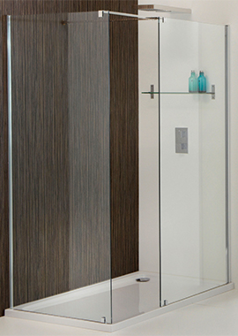 Related Champlain II 850mm Walk-In Front Shower Panel