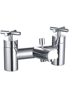 Related Harbor Bath Shower Mixer Tap With Handset And Hose