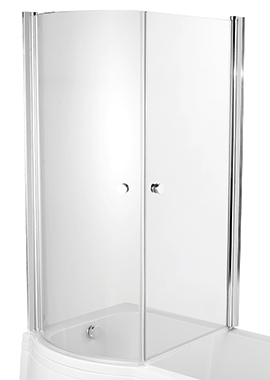 Related Avada Enclosed Bath Screen 830 x 1500mm