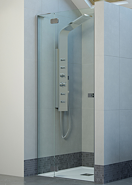 Related Mist Frameless 800mm Hinge Shower Door