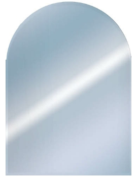 Related EuroShowers Round Top Bevelled Mirror 400 x 500mm