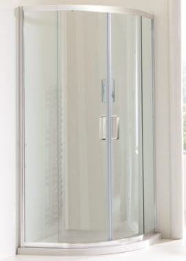 Related Champlain II 6mm Clear Glass Offset Quadrant Shower Enclosure 1000 x 800mm